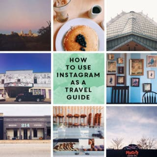How to Use Instagram as a Travel Guide // Feast + West
