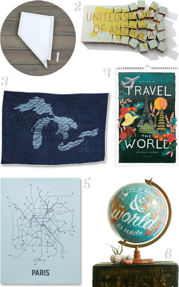 Creative Maps for the Home // Feast + West