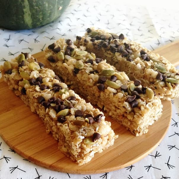 coconut chocolate chip granola bar recipe