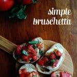 Simple Bruschetta
