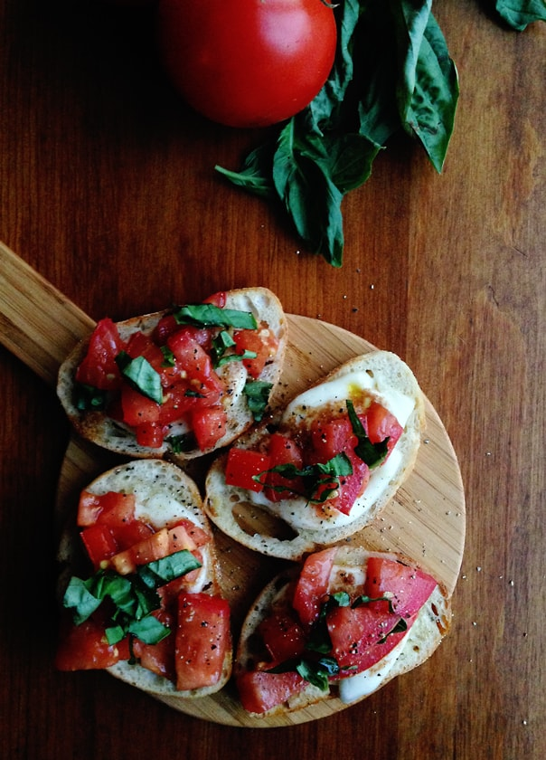 Simple Bruschetta // Feast + West