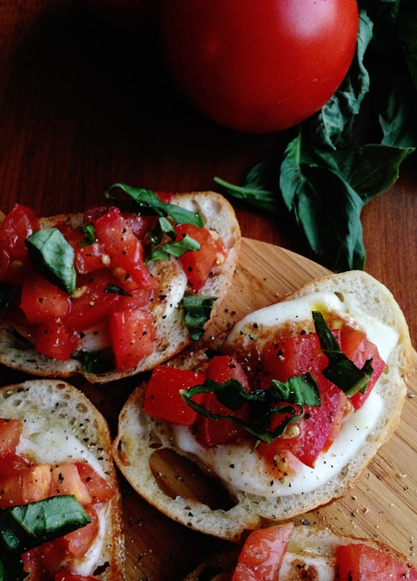 Simple Bruschetta // Feast + West
