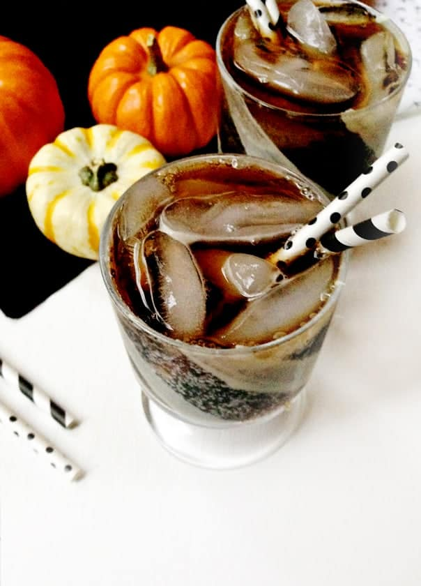 The Skeleton, A Halloween Cocktail // Feast + West