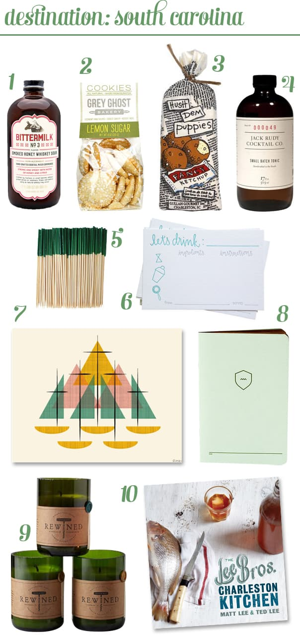 Kitchen Road Trip: South Carolina Gift Guide // Feast + West