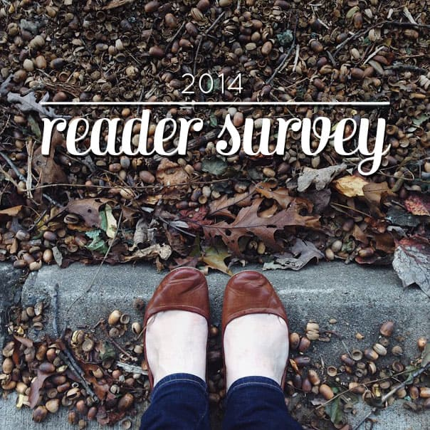 2014 Reader Survey // Feast + West
