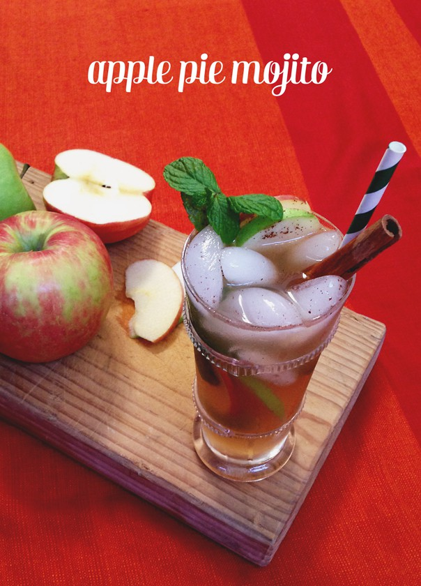 Apple Pie Mojito // Feast + West