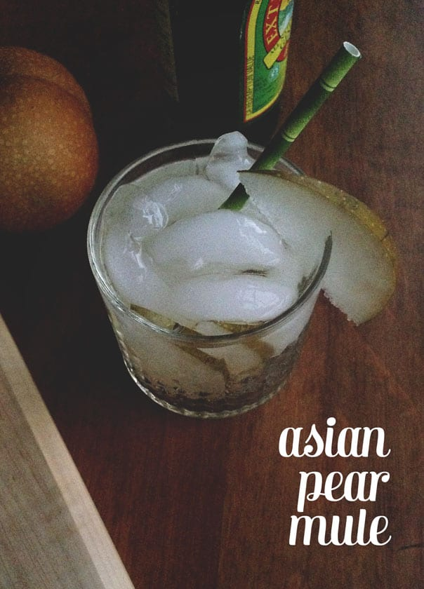 Asian Pear Mule // Feast + West