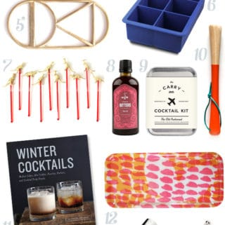 Holiday Gifts for the Mixologist // Feast + West