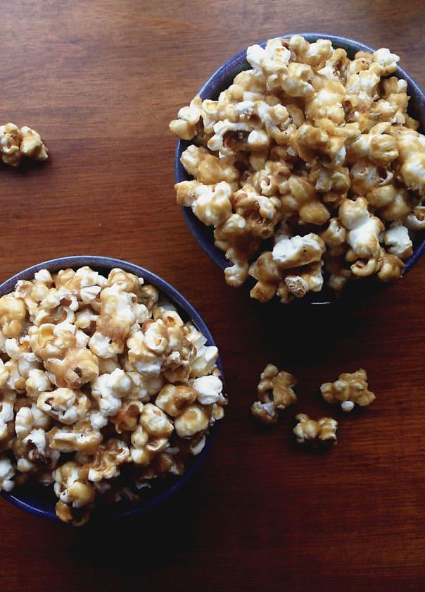 Salted Caramel Popcorn // Feast + West