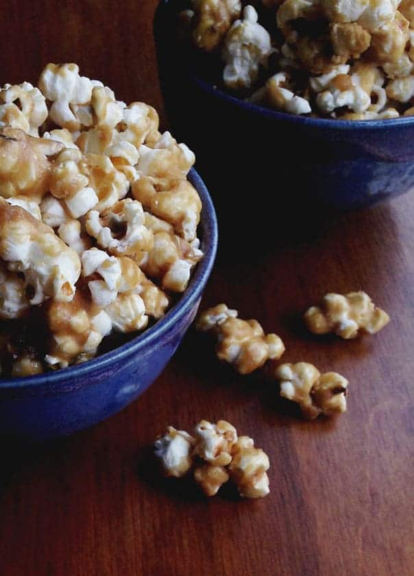 Salted Caramel Popcorn // Feast + West