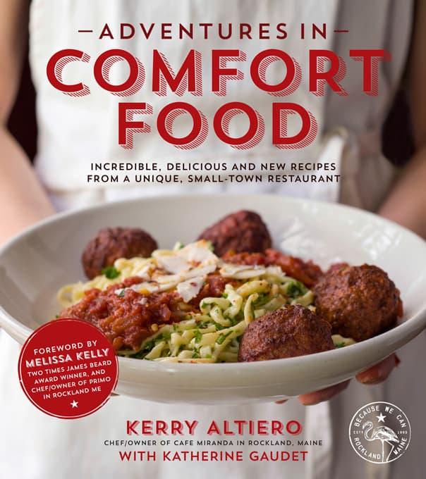 'Adventures in Comfort Food' cookbook