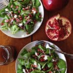 Pomegranate + Goat Cheese Salad // Feast + West