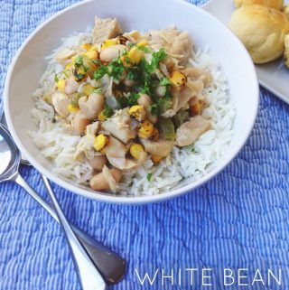 White Bean + Chicken Winter Stew