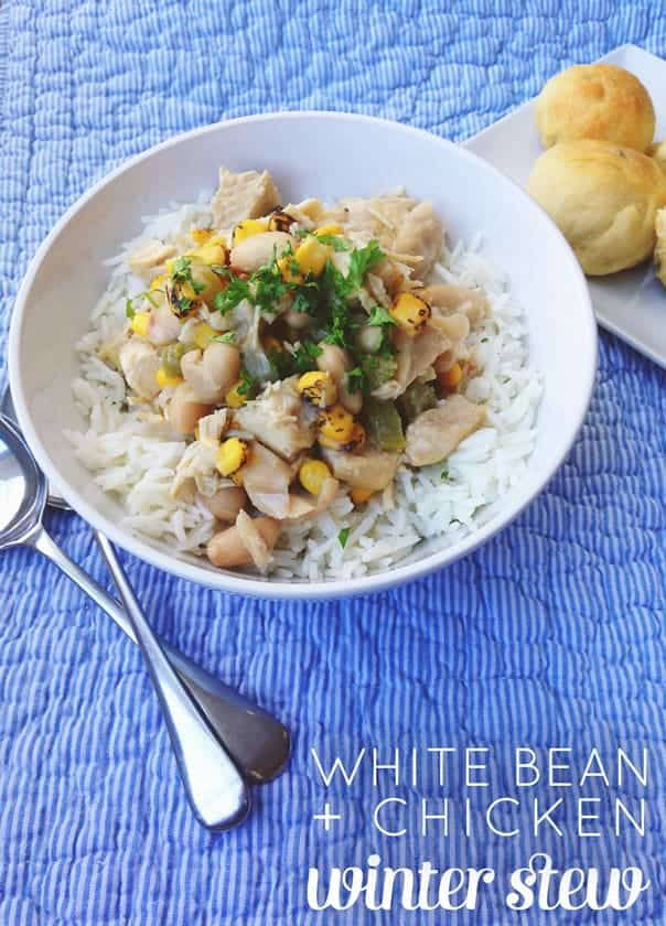 Chicken White Bean Winter Stew // Feast + West