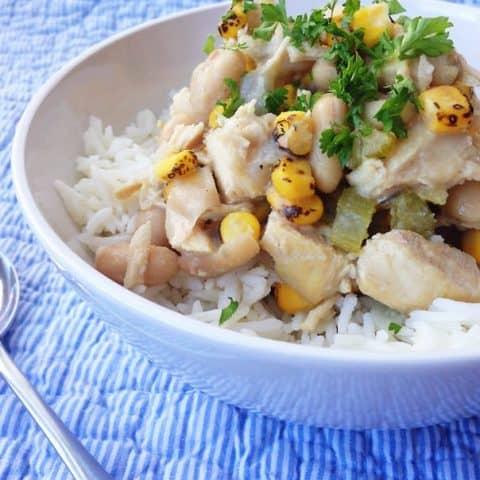 White Bean and Chicken Winter Stew