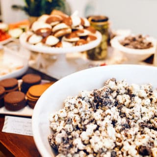 Cookies + Cream Popcorn