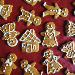 Gluten-Free Vegan Gingerbread Men
