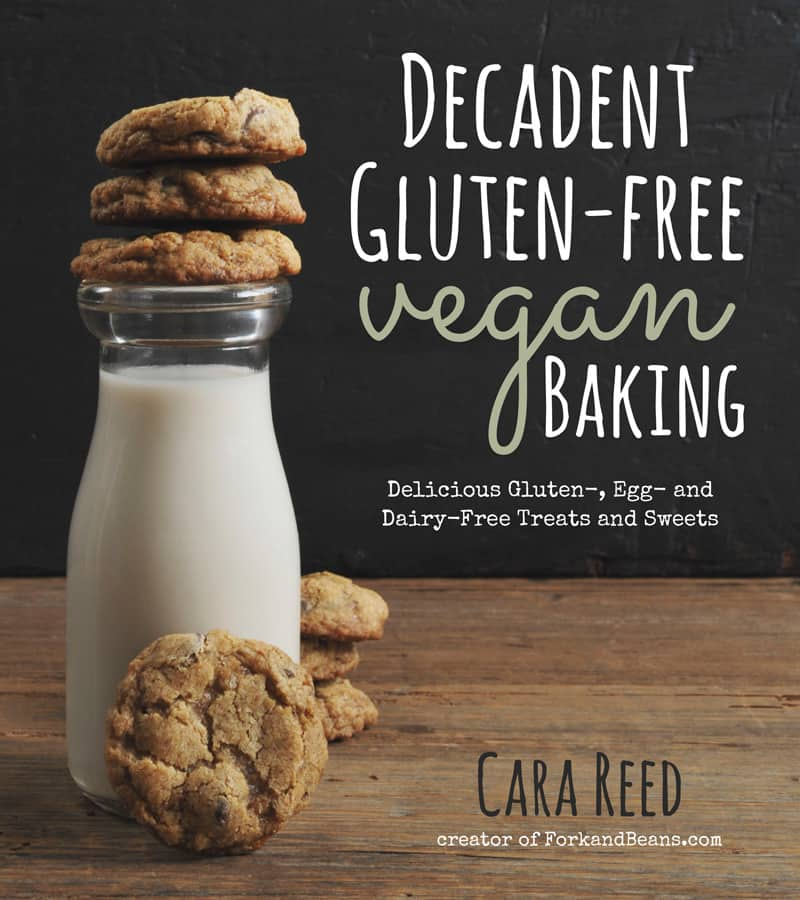 Decadent Gluten Free Vegan Baking Cookbook | Baking for special diets this holiday? Vegan, Gluten-Free Gingerbread Men are the best way to cater to friends and family who have to watch what they eat. Delight them with a batch of these Christmas cookies that taste exactly like the real thing. (via feastandwest.com)