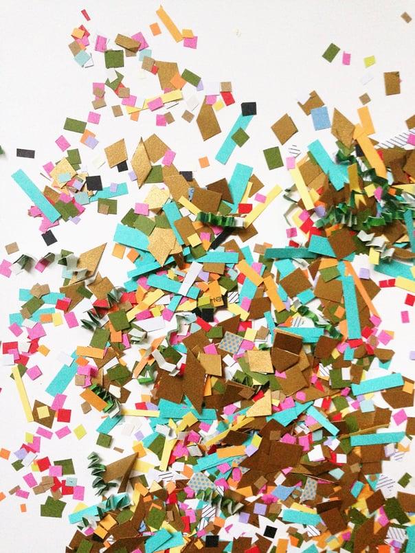 DIY Recycled Confetti // Feast + West