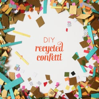 DIY Recycled Confetti