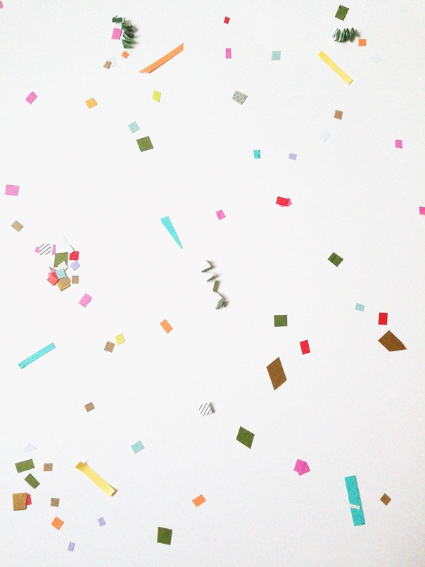 DIY Recycled Confetti // Feast + West
