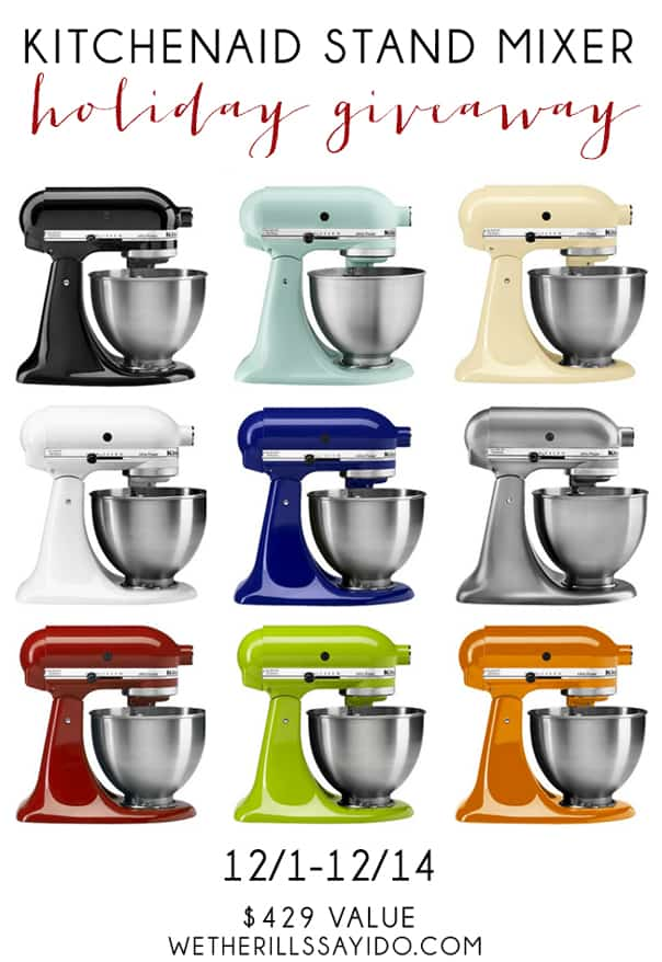 Kitchenaid Giveaway // Feast + West