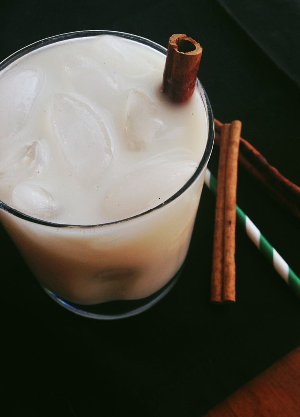 Oat-chata (horchata made with oats) from 'OATrageous Oatmeals' by Kathy Hester // Feast + West