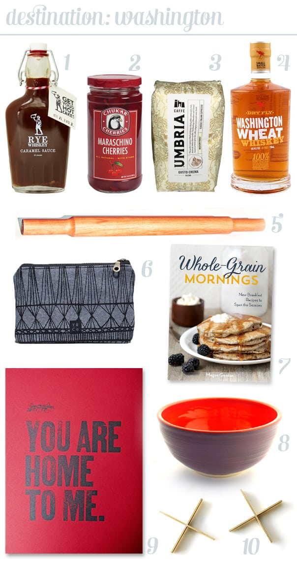 Kitchen Road Trip: A Made in Washington gift guide // Feast + West