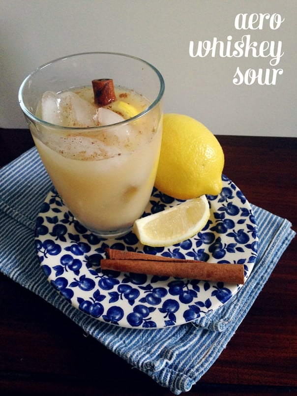 Aero Whiskey Sour // Feast + West