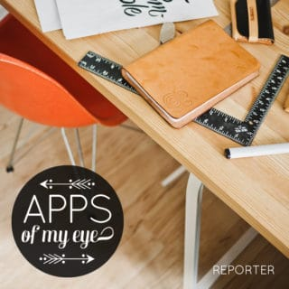 Apps of My Eye: Reporter
