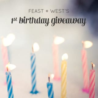 First Birthday Giveaway