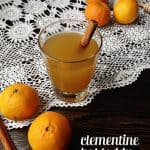 Clementine Hot Toddy