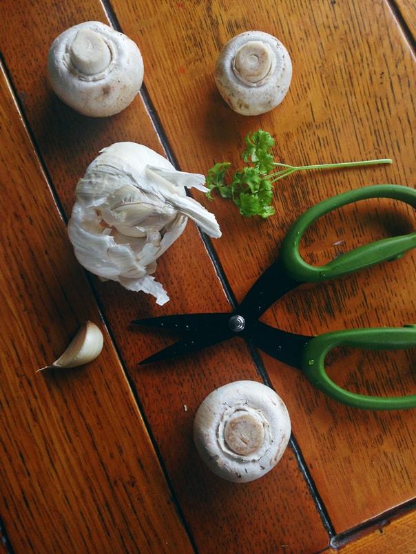 Creamy Mushroom Soup // Feast + West