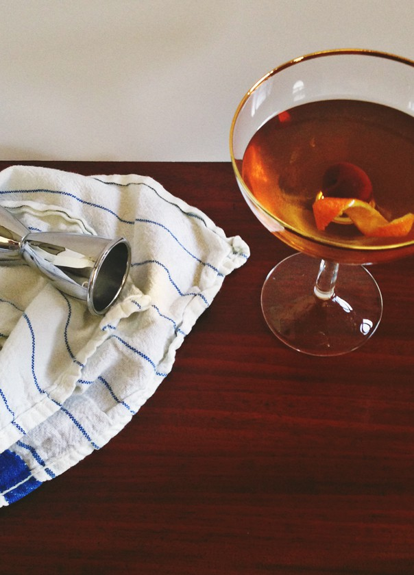 The Manhattan cocktail // Feast + West