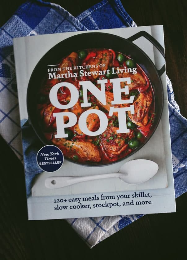'One Pot' cookbook from the Kitchens of Martha Stewart Living