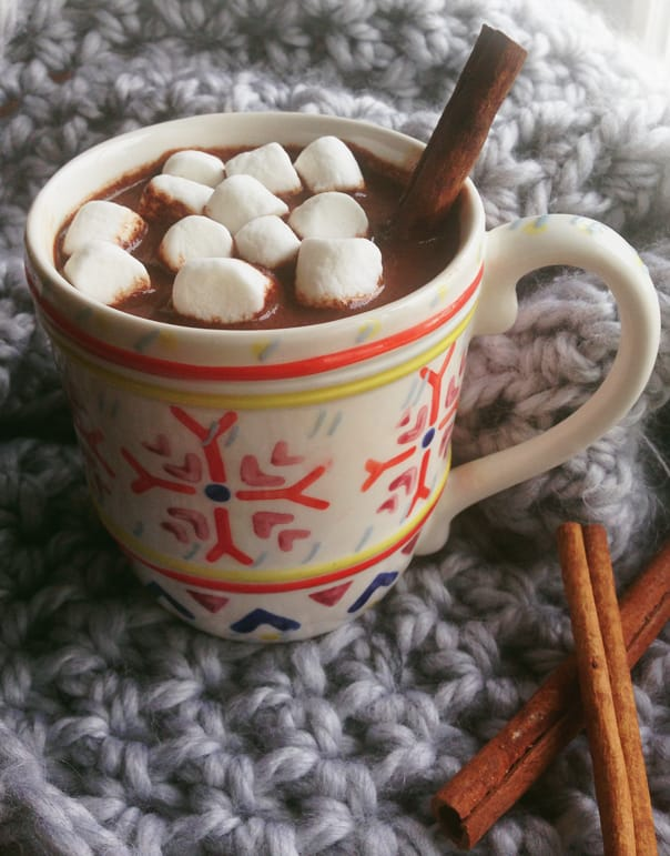 Spiked Mexican Hot Chocolate // Feast + West