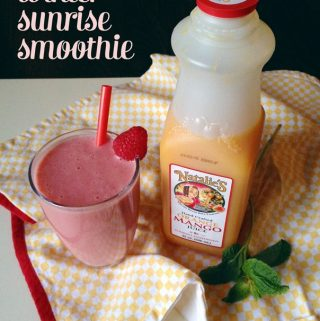 Winter Sunrise Smoothie with @nataliesoijc // Feast + West