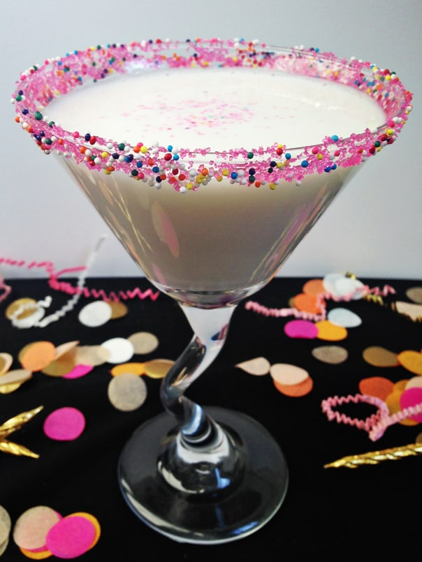 Birthday Cake Martini // feastandwest.com