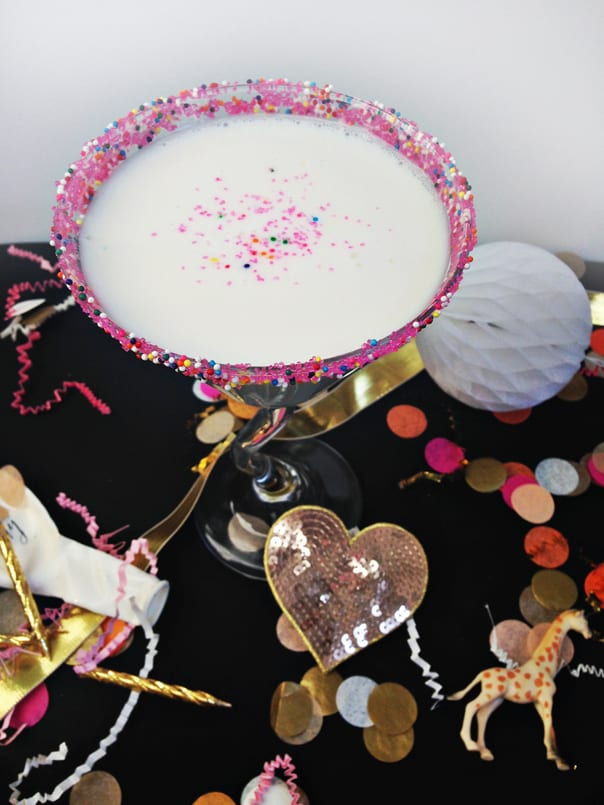 Birthday Cake Martini // feastandwest.com