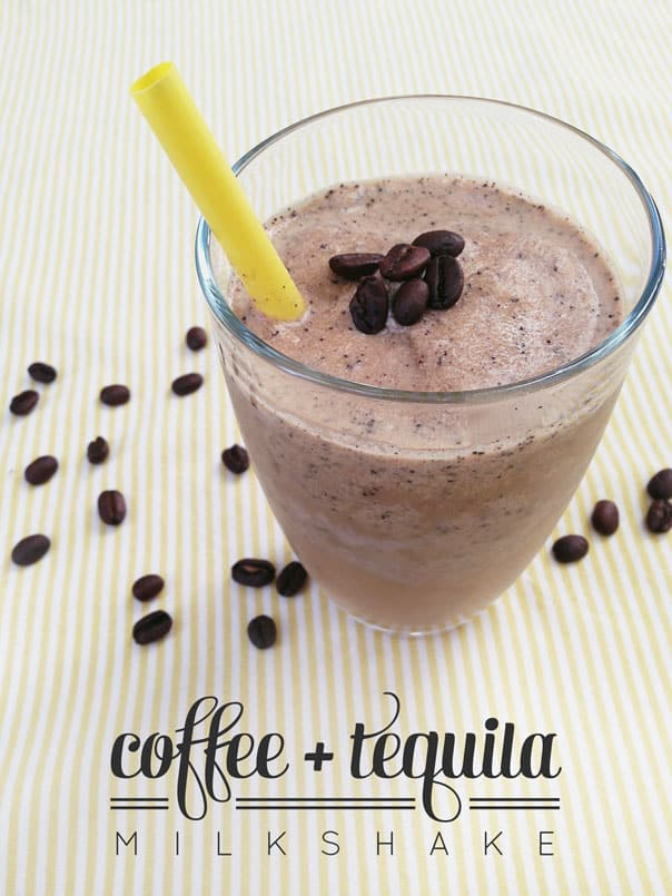Coffee + Tequila Milkshake // feastandwest.com