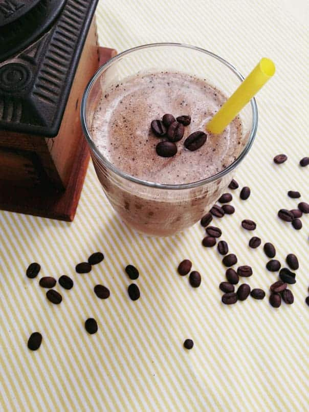Coffee + Tequila Milkshake // feastandwest.com