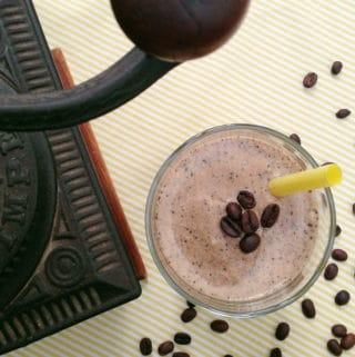 Coffee + Tequila Milkshake
