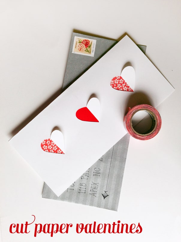 Cut Paper Valentines // Feast + West