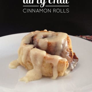 Dirty Chai Cinnamon Rolls
