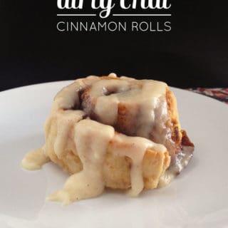 Dirty Chai Cinnamon Rolls