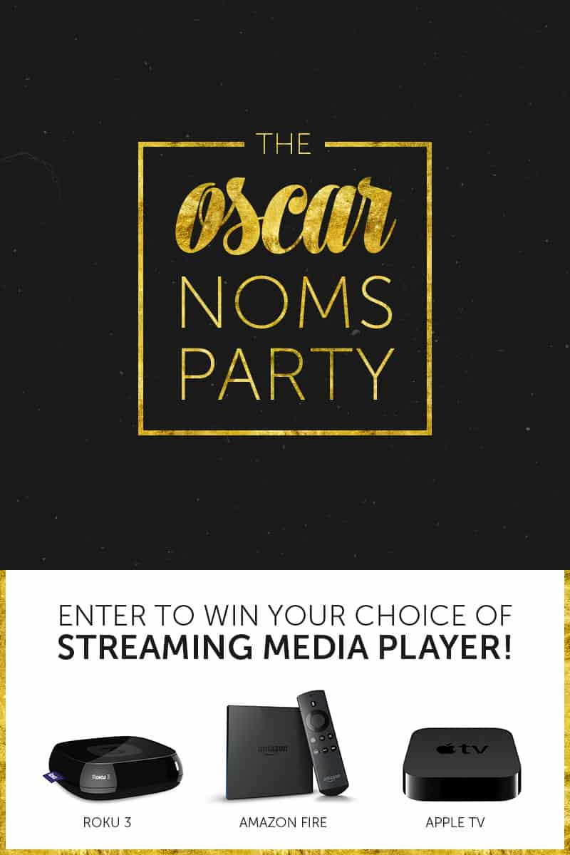 Oscar Noms Party Giveaway