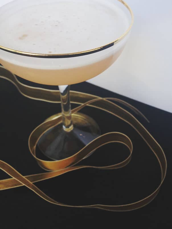 Pink Lady Cocktail // Feast + West