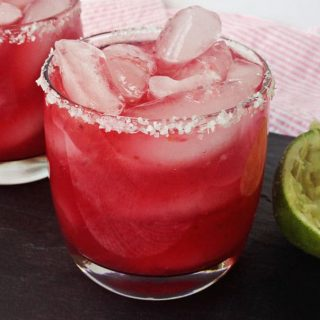 Sweet Blood Orange Margaritas