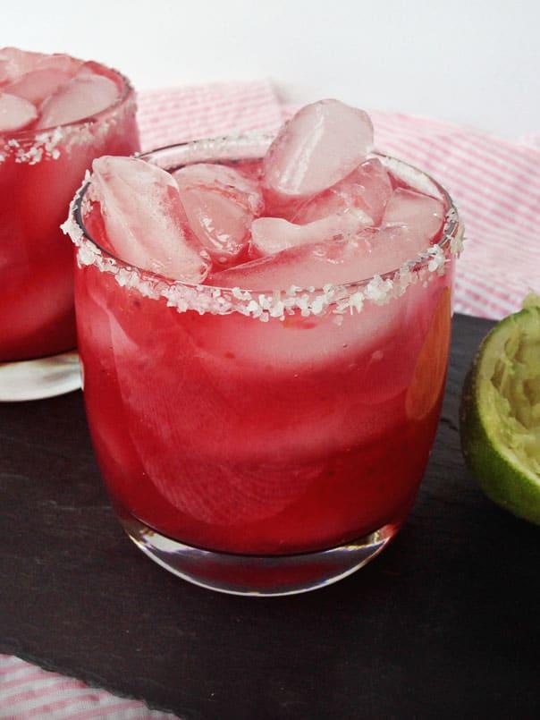 Sweet Blood Orange Margaritas // Feast + West