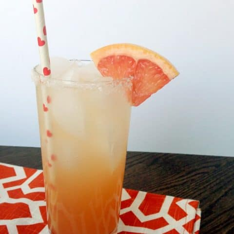The Paloma Cocktail, made with tequila and grapefruit juice // Feast + West